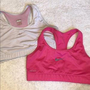 BUNDLE of 2 Nike sports bras